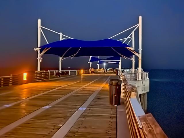 Fisher Family Pier, 222 N Pompano Beach Boulevard, Pompano Beach, Florida, USA / Built: 2020 / Length: 896 ft