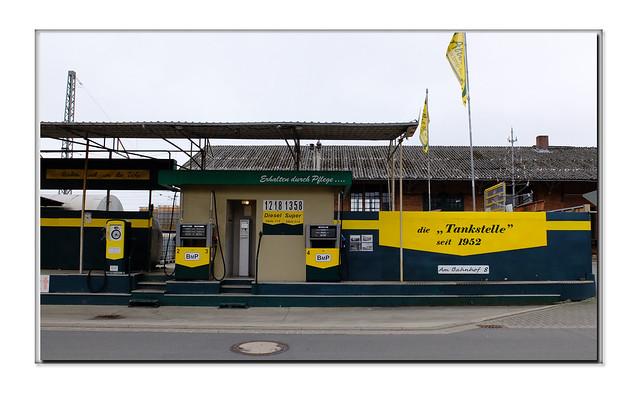 Scheessel, Petrol Station, 2021
