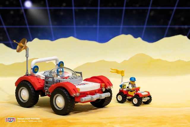 Distant Dune Patroller - Baja Buggy