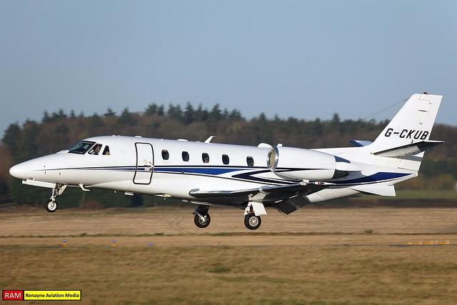 G-CKUB | Cessna 560XL Citation XLS+ | Air Charter Scotland