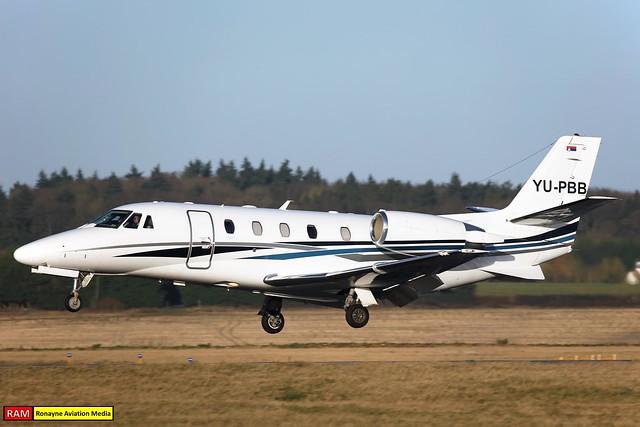 YU-PBB | Cessna 560XL Citation XLS+ | Air Pink