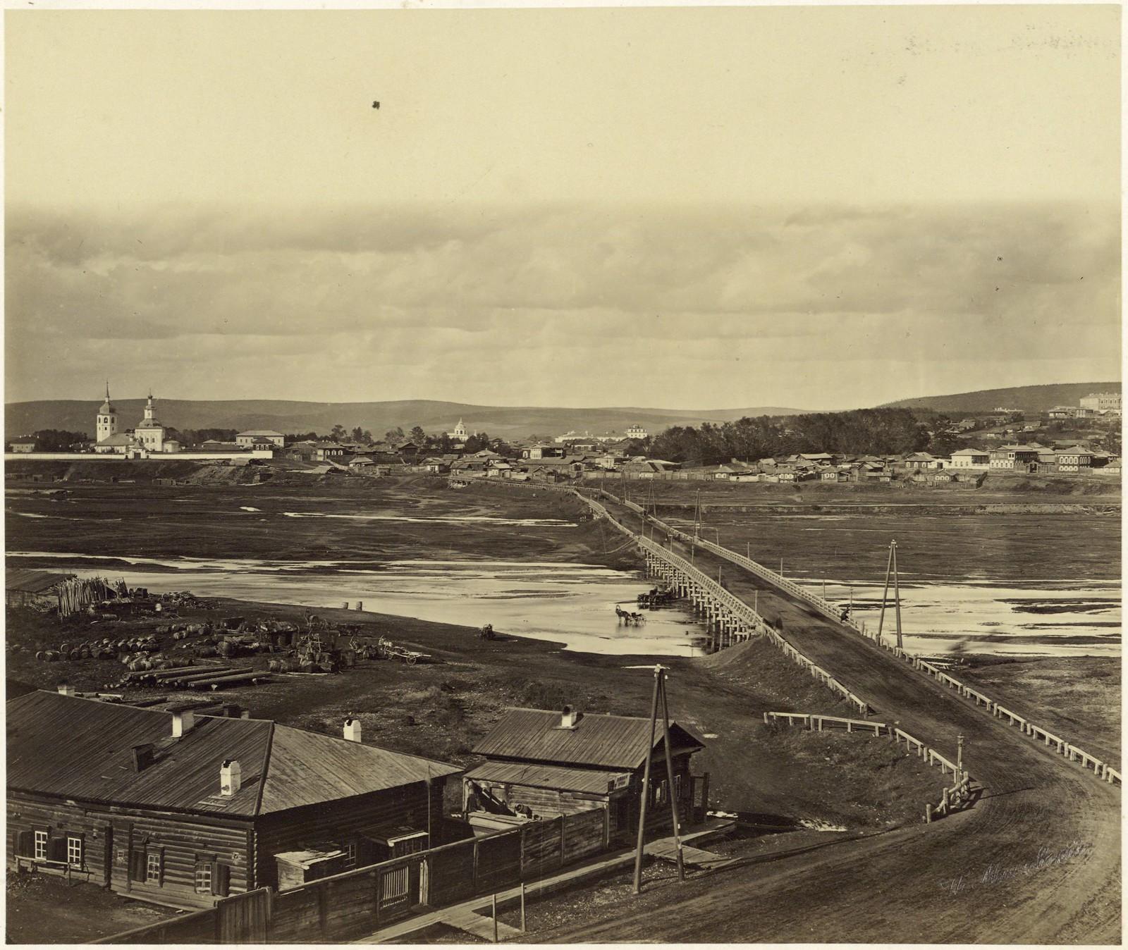 30. Знаменское предместье, мост через реку Ушаковку.