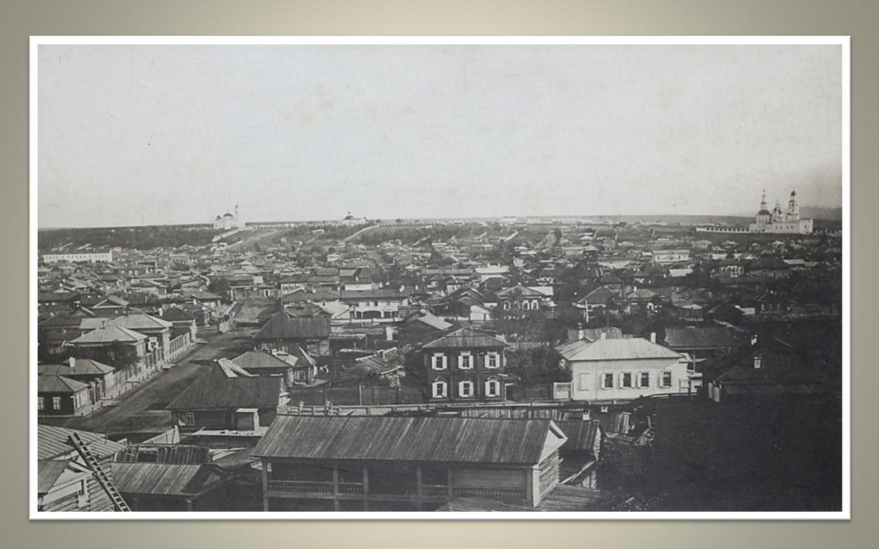 21. Вид города с колокольни Тихвинской церкви в сторону Иерусалимской горы