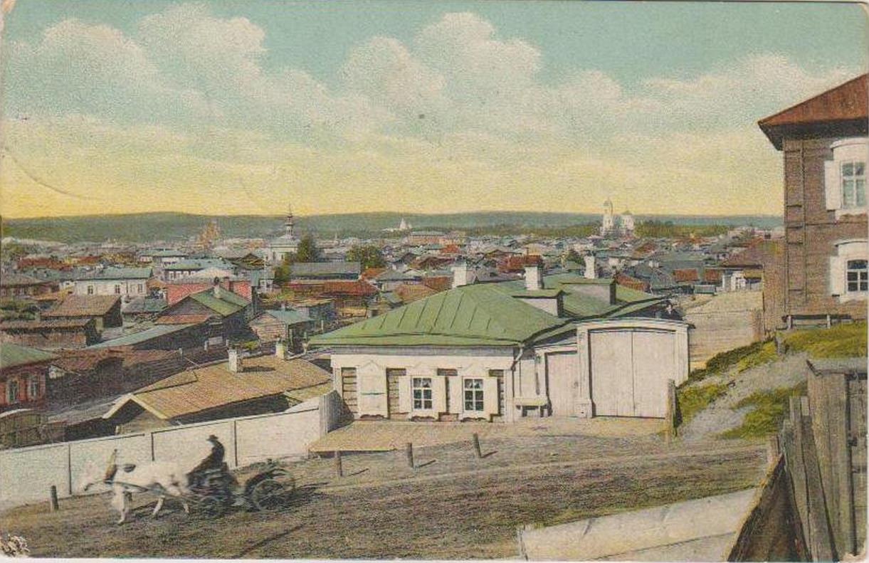 10. Вид на город и Русиновскую улицу.