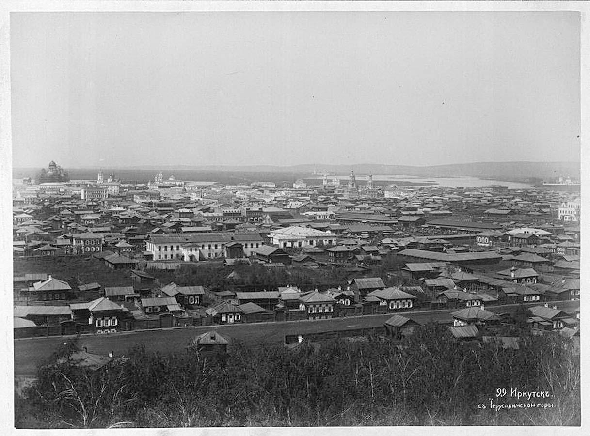 03. Вид города с Иерусалимской горы.