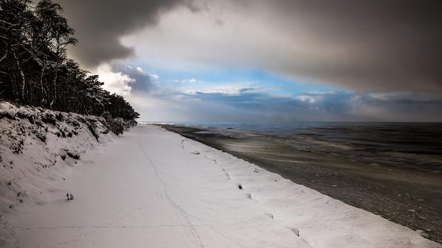 Winter conquering the Baltic sea, day 3 [explored 2021-02-28]