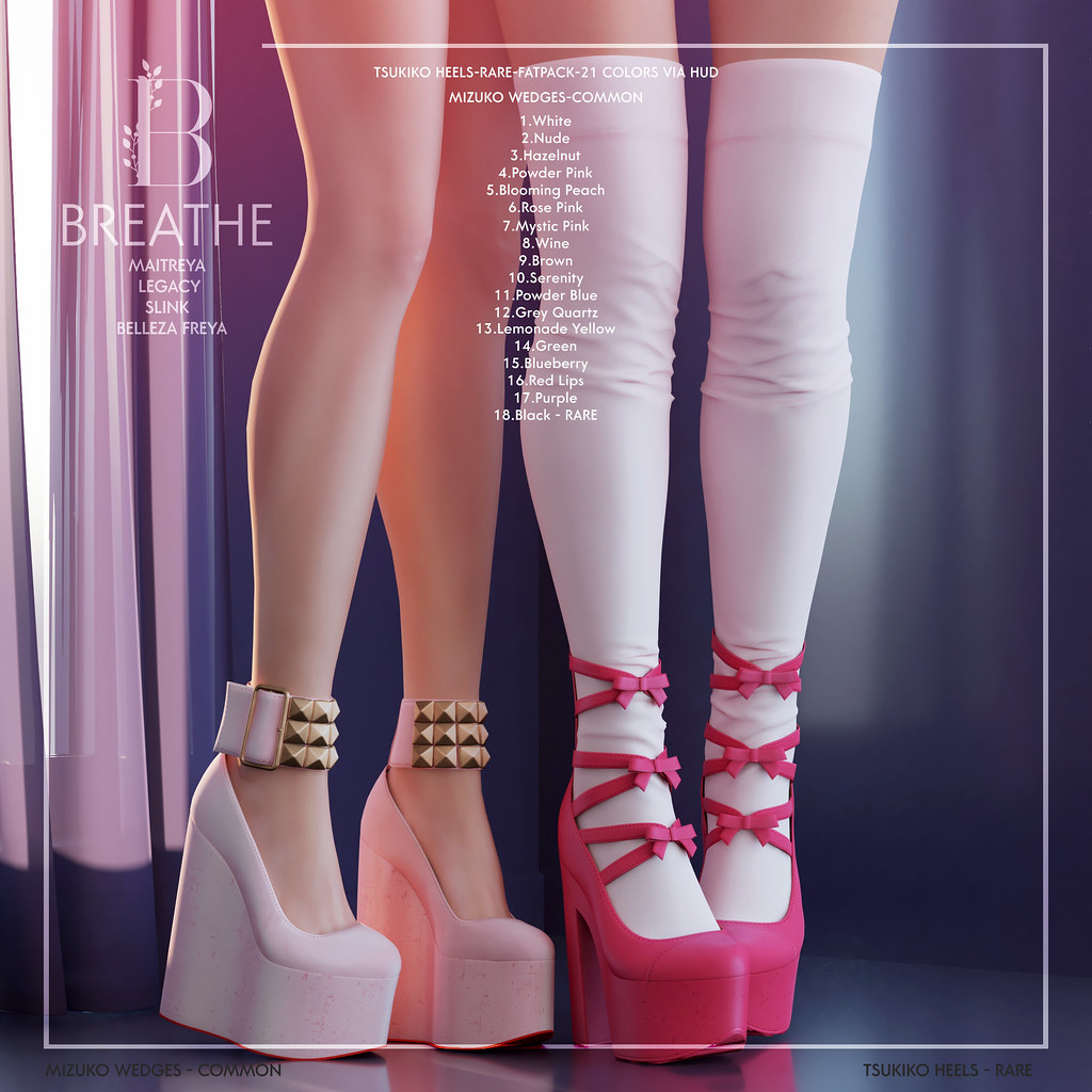 [BREATHE]-Mizuko&Tsukiko X The Arcade Gacha