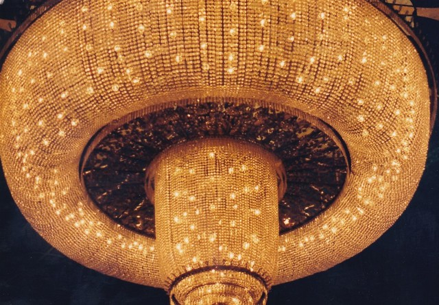 Lisboa Casino lobby ceiling light