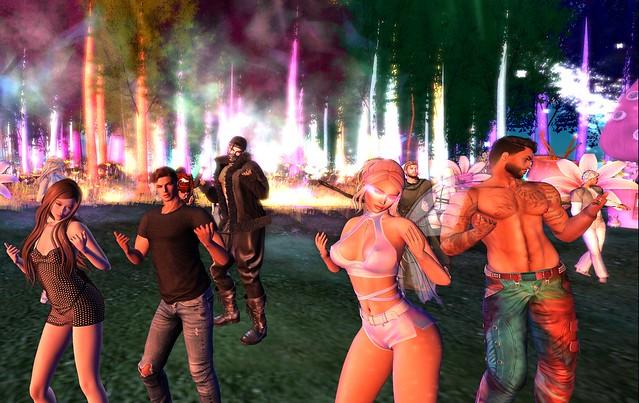 Dancin at Dangerlands Electric Forest Music Fest