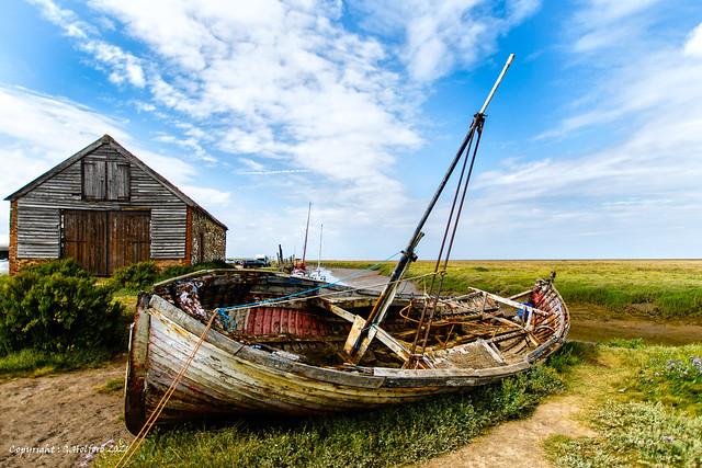 Thornham Fishing Boat [Explored]