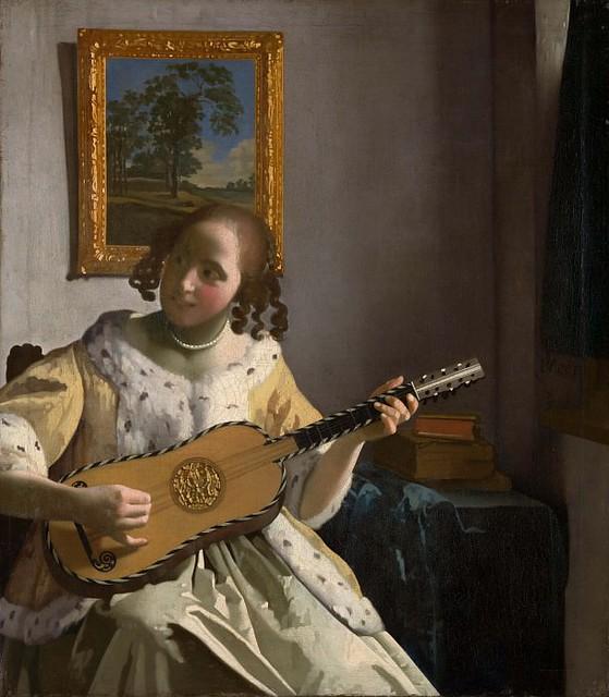 Ян Вермеер – Гитаристка 1670-72