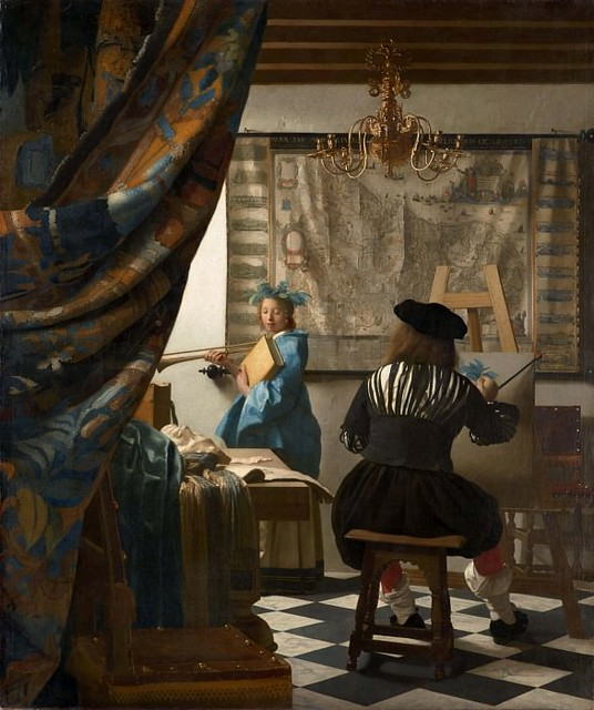 Ян Вермеер – Аллегория живописи 1665-66