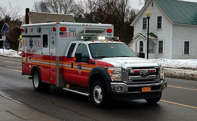 FDNY Ambulance 444 in Glens Falls, New York