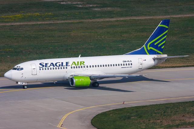 Seagle Air - Boeing 737-300 - OM-HLA