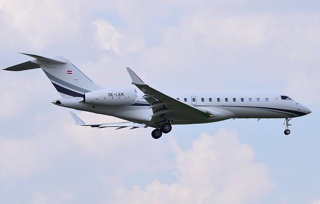 OE-LEM Bombardier Global 6000-BD-700-1A10 2018-07-15  VNUKOVO SUN