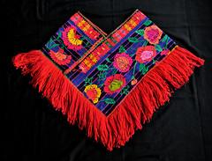 Mazahua Quechquemitl Mexico Textiles