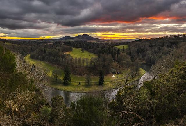 Scott's View at Sunset, Scottish Borders Explored #1