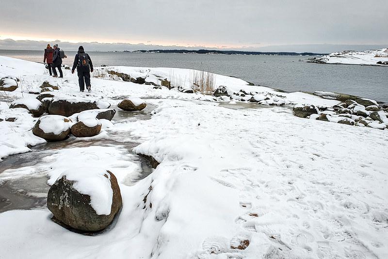 Kopparnäs, Etelä-Suomen talviretkeilyreitit