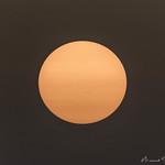 Sonne mit Sonnenflecken