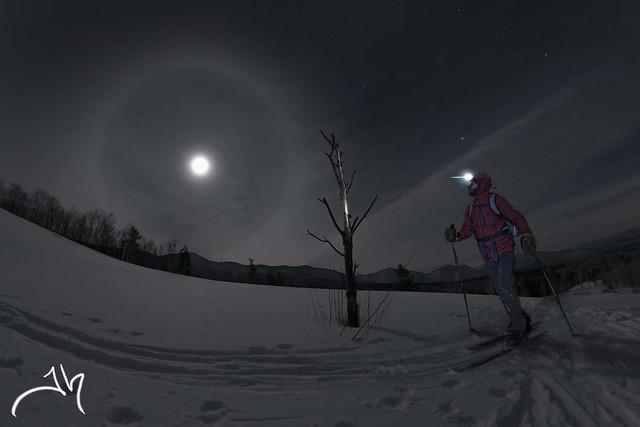 Catamount Trail - Full Moon Ski in Vermont