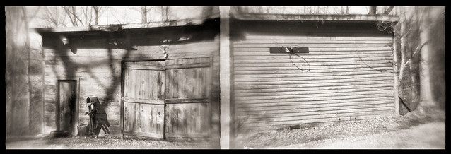 Barn on Fanny Barger Rd Diptych