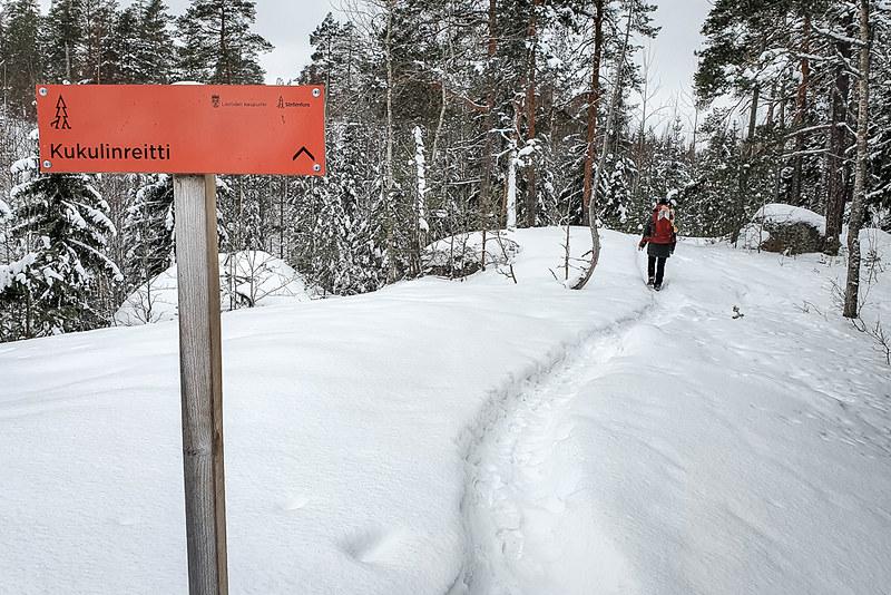 Kukulinreitti, Etelä-Suomen retkeilyreitit