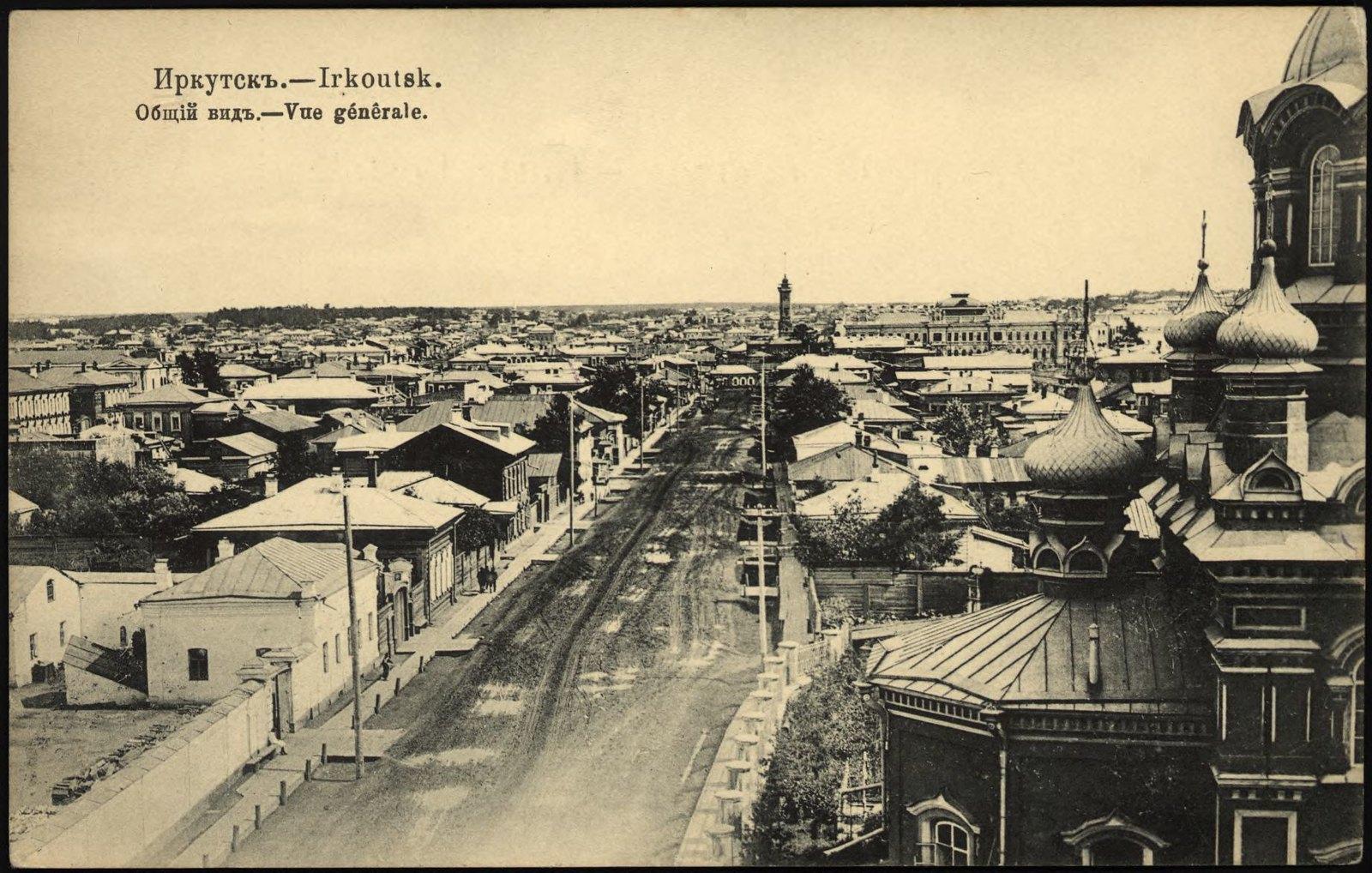 19. Общий вид от Благовещенской церкви в сторону Благовещенской улицы