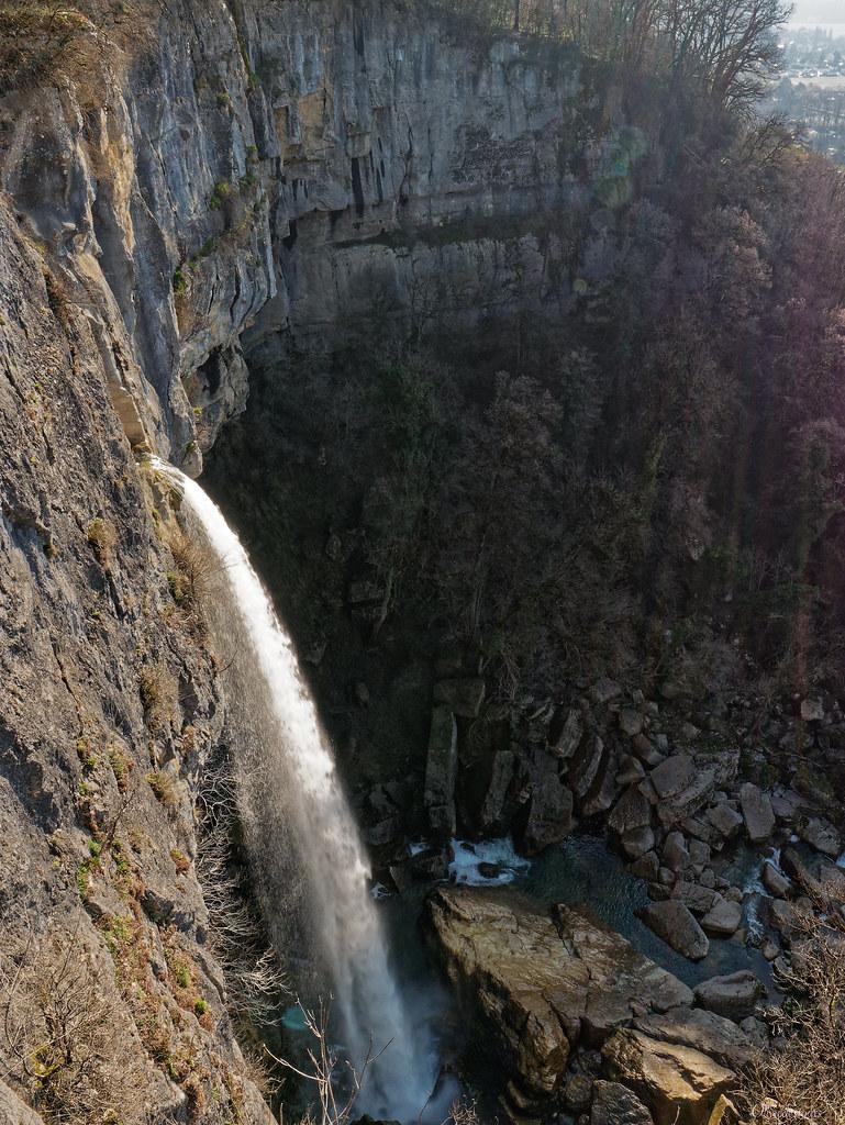 Le Séran et la cascade de Cerveyrieu 50990056337_f94df25c72_b