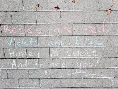 Poetry in Chalk