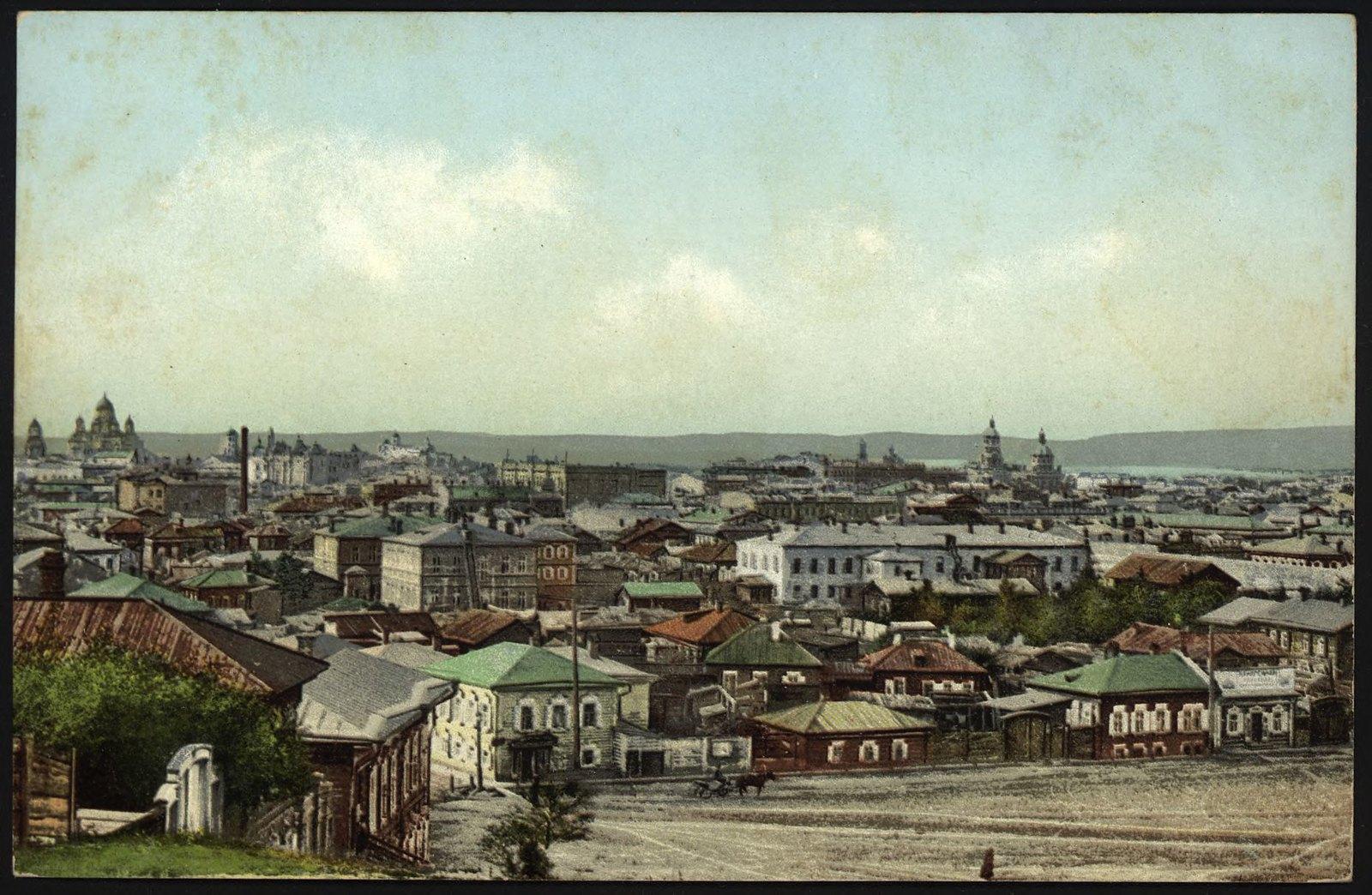 07. Общий вид с Иерусалимской горы на улицу Матрешинскую и город