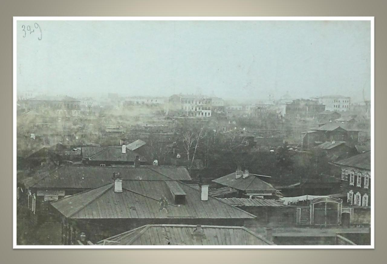 04. Вид с Иерусалимской горы в сторону сгоревших кварталов. 1879
