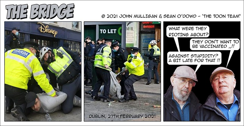 The Toon Team - Dublin-Riot