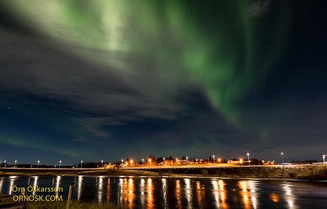 Norðurljós - Northern Lights - Aurora borealis