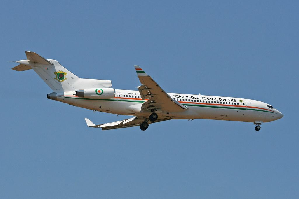 Boeing 727-2Y4 'TU-VAO'