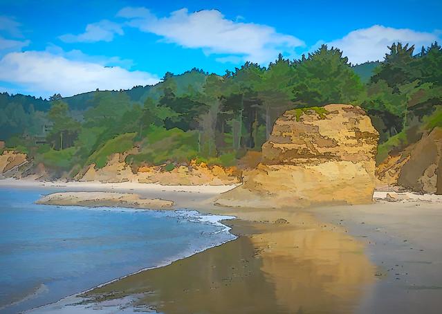 Oregon Coast near Otter Rock