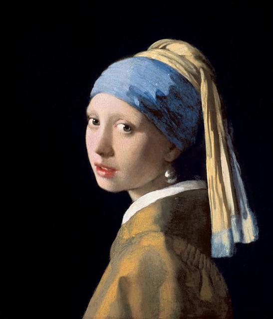 Ян Вермеер – Девушка с жемчужной серёжкой 1665-67