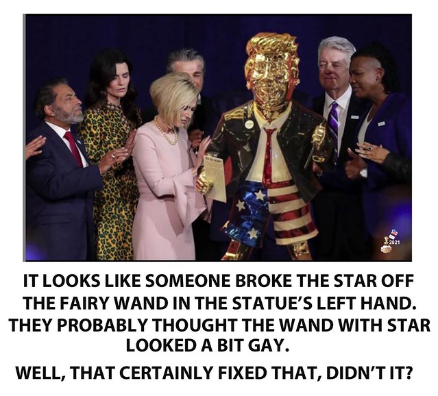 WORSHIP OF THE GOLDEN DILDO AT CPAC #2