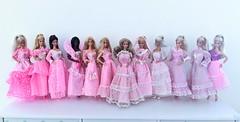 Pink Dream Glow clone dresses