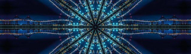 richmond bridge kaleidoscope