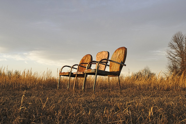 lawn chairs, west field