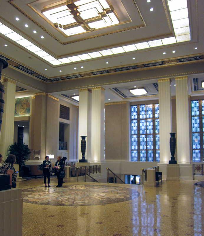 Waldorf Astoria New York Lobby
