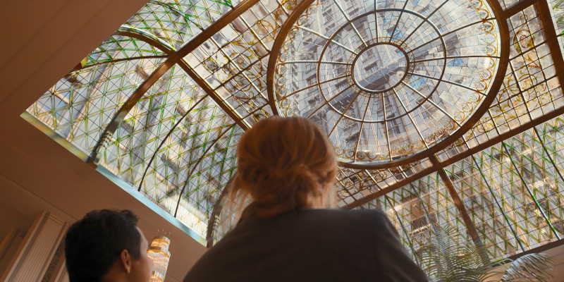 Glass atrium Royal Gate