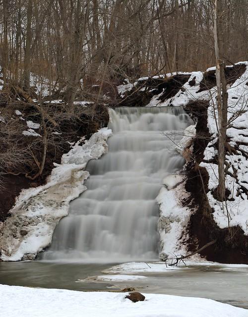 An Unfrozen Waterfall!!