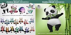 SEmotion Libellune Panda Bear Animesh