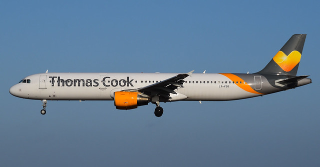LY-VEG | Thomas Cook Airlines | A321-212 | Lanzarote/ACE