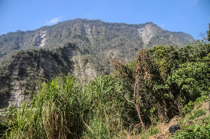 竹林山頂西北望大克山 (2)