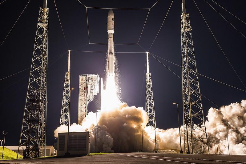AEHF-5 Launch