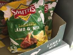 Lamb and Mint Potato Chips