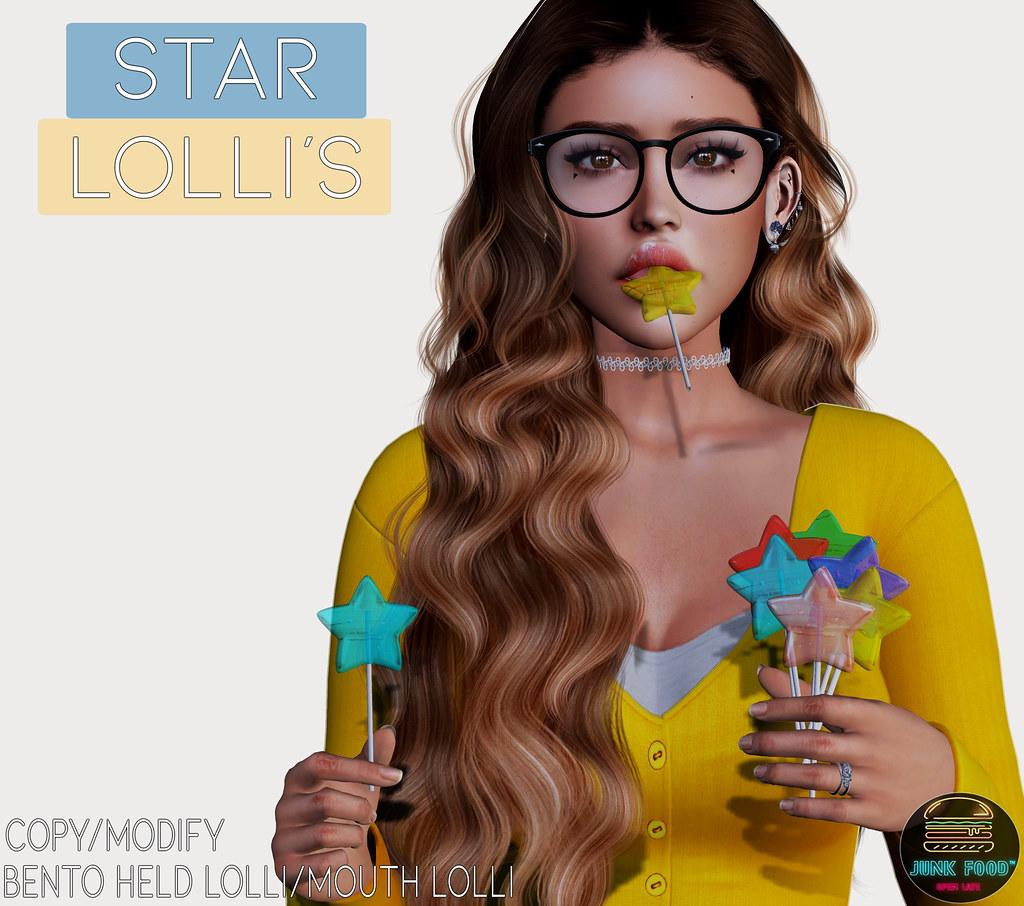 Junk Food – Star Lollis Ad