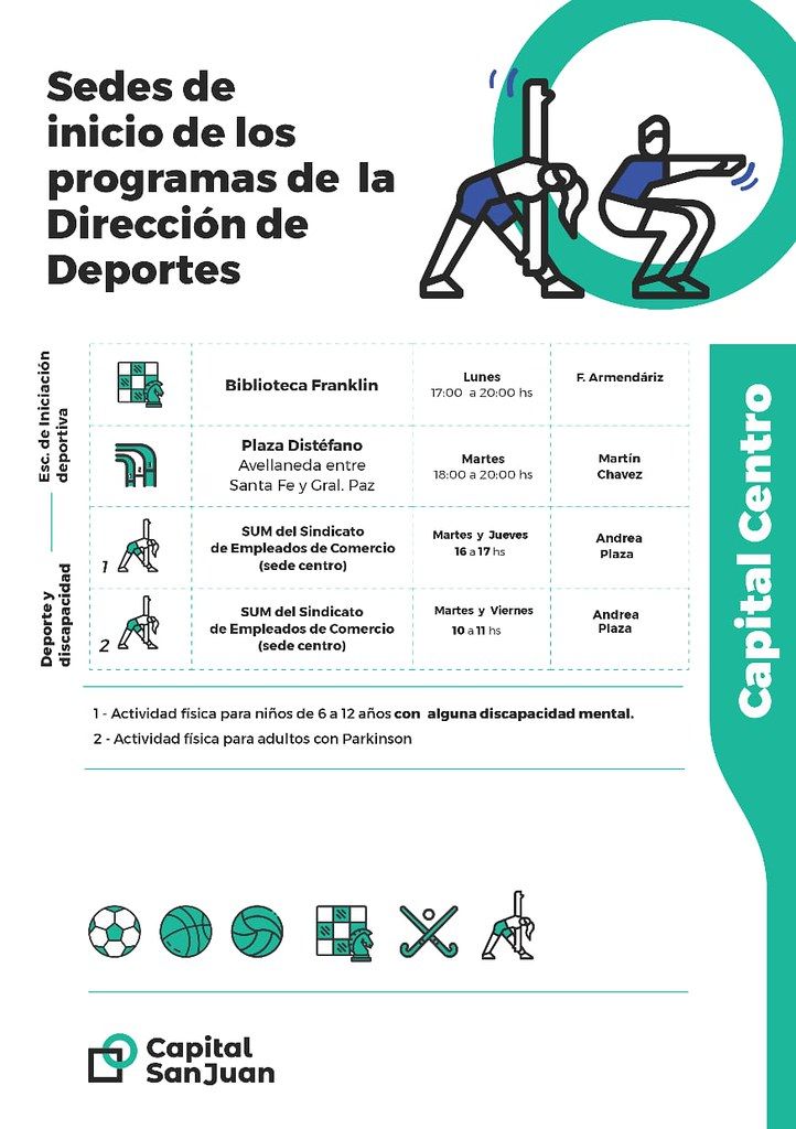 Deportes Centro
